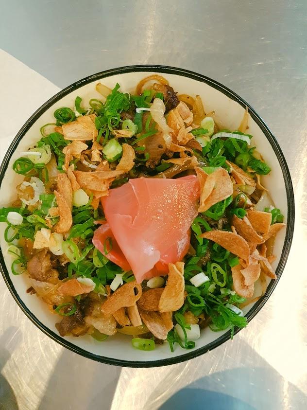 銀座食堂-牛丼飯